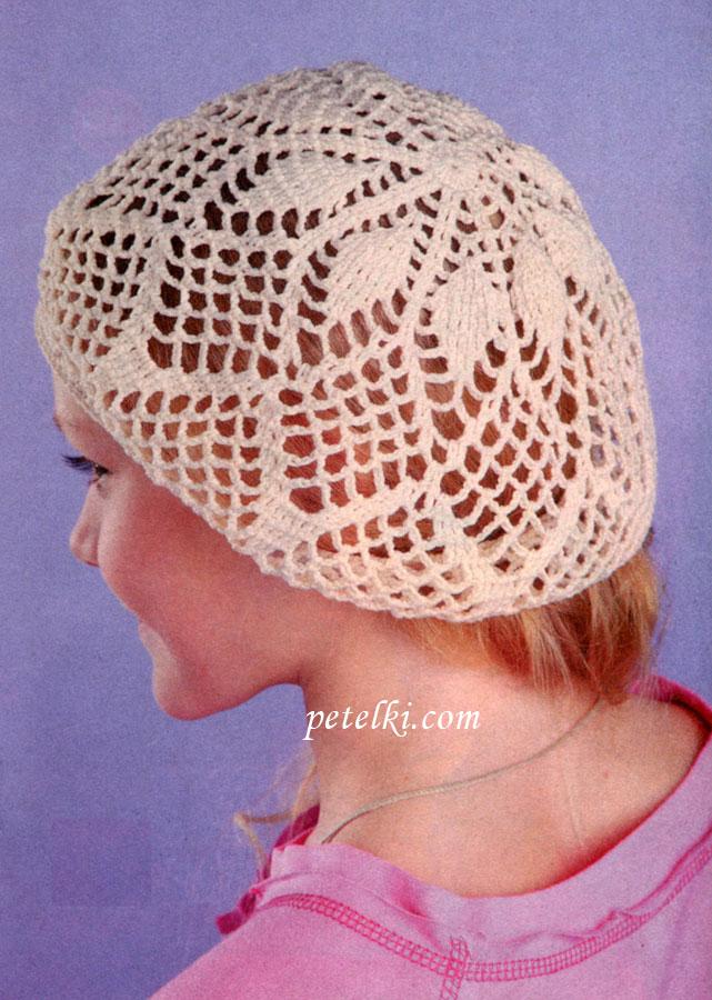 Схемы вязания детских шапочек спицами