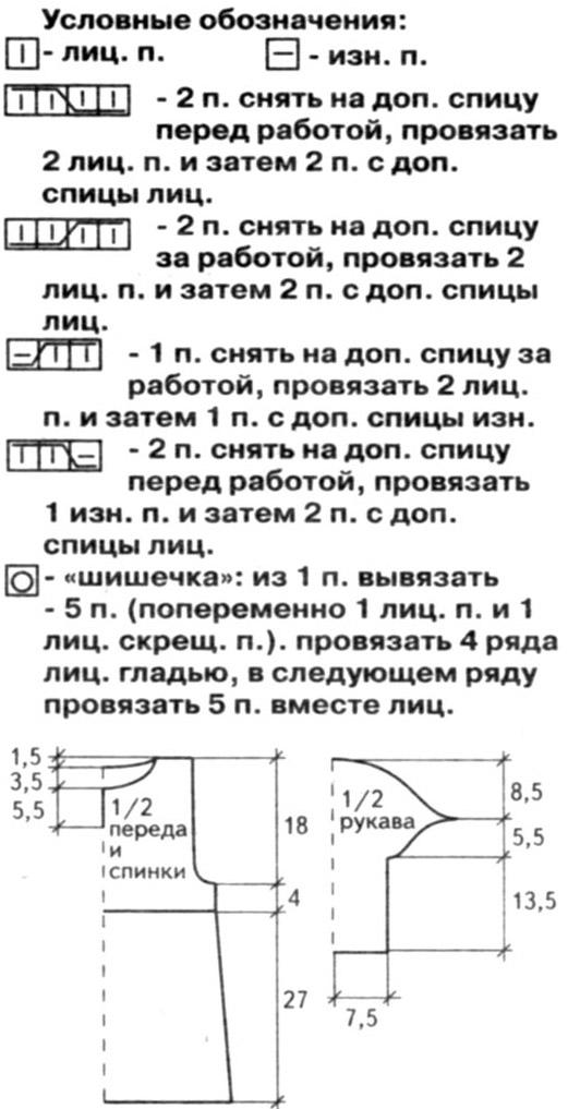 Вязание на Все-сама. ру - Модели, схемы, узоры 19