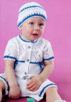 Песочник и шапочка для малыша